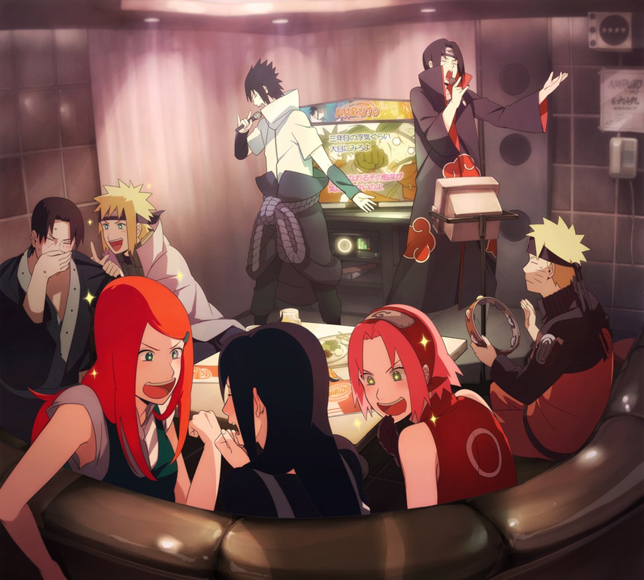 Naruto x kushina x mikoto fanfiction photo 2