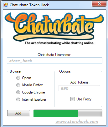 Chaturbate token hack pour android youtube pusy