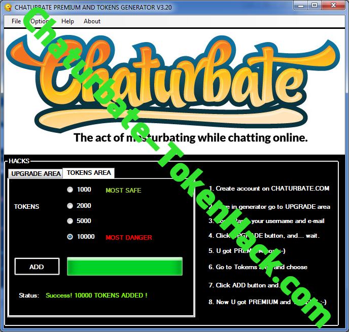 Chaturbate token hack pour android photo 1